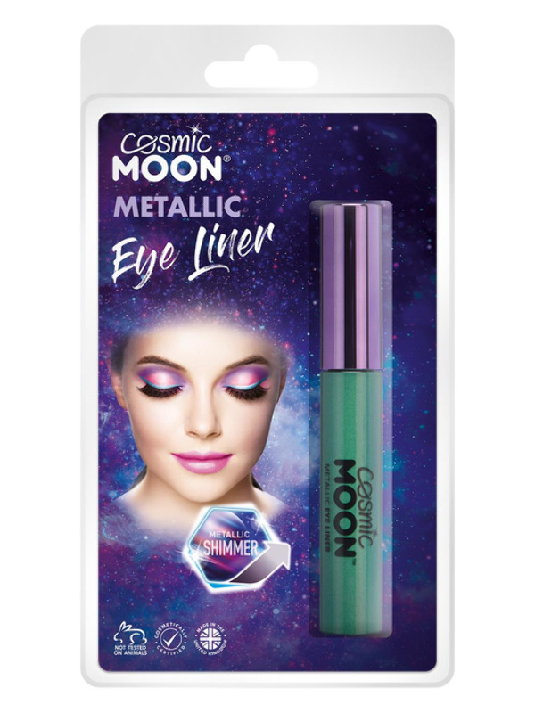 Cosmic Moon Metallic Eye Liner, Green