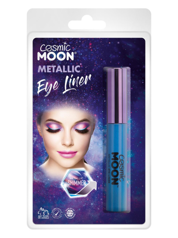 Cosmic Moon Metallic Eye Liner, Blue
