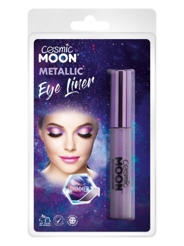 Cosmic Moon Metallic Eye Liner, Purple