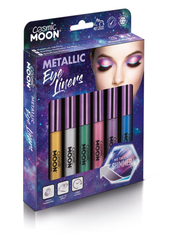 Cosmic Moon Metallic Eye Liner, Assorted