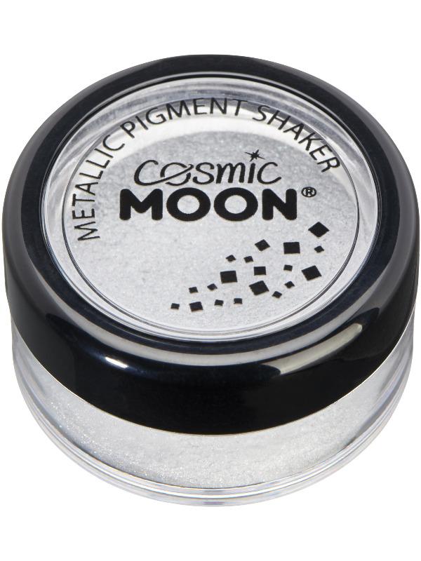 Cosmic Moon Metallic Pigment Shaker, Silver