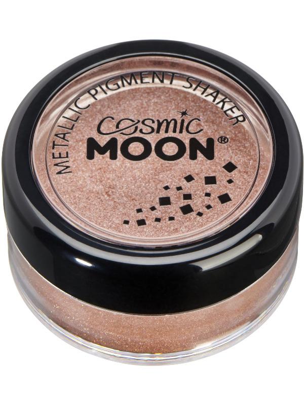 Cosmic Moon Metallic Pigment Shaker, Rose Gold