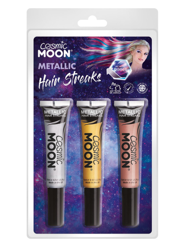 Cos Moon Metallic Hair Streaks,
